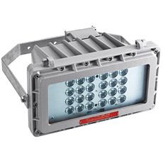 Floodlight with power LED modules
