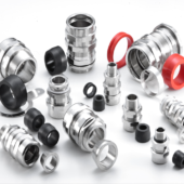 Cable glands for armoured and unarmoured cables