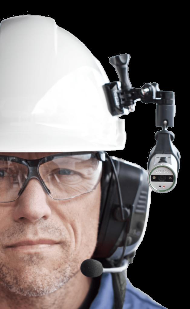 Orbit X helmet mount